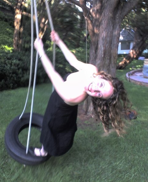 becca on tireswing